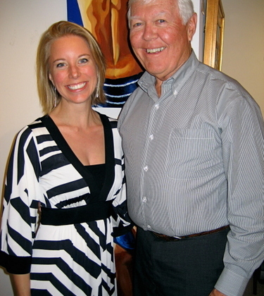 Cove Artist Reception Michelle and Bill